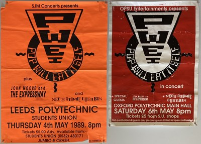 Lot 42 - NED'S ATOMIC DUSTBIN + POP WILL EAT ITSELF  CONCERT POSTERS.