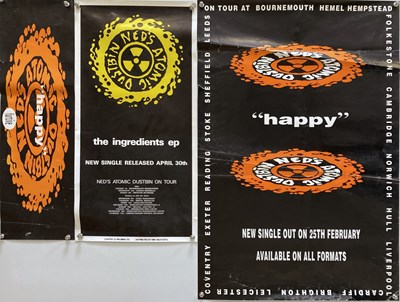 Lot 44 - NED'S ATOMIC DUSTBIN - PROMO POSTERS.
