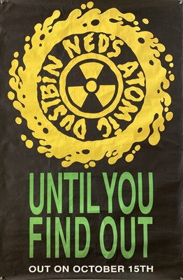 Lot 45 - NED'S ATOMIC DUSTBIN - PROMOTIONAL POSTERS.