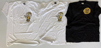 Lot 47 - NED'S ATOMIC DUSTBIN - MERCHANDISE INC LEIGH SMILER T-SHIRTS.