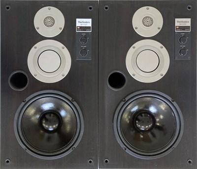 Lot 9 - TECHNICS SB-X500 SPEAKERS.