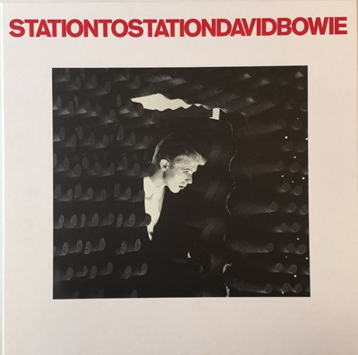 Lot 1128 - DAVID BOWIE - STATION TO STATION - DELUXE LP/ CD BOX-SET(BOWSTSD2010)
