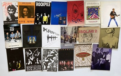 Lot 144 - 1970S AND 1980S ROCK AND POP PROGRAMMES.