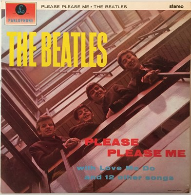 Lot 17 - THE BEATLES - PLEASE PLEASE ME LP (UK 5TH STEREO - PCS 3042)