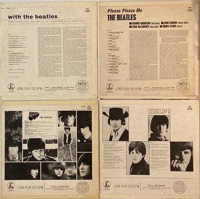Lot 23 - THE BEATLES - UK STUDIO ALBUM LPs (ORIGINAL/EARLY MONO PRESSINGS)