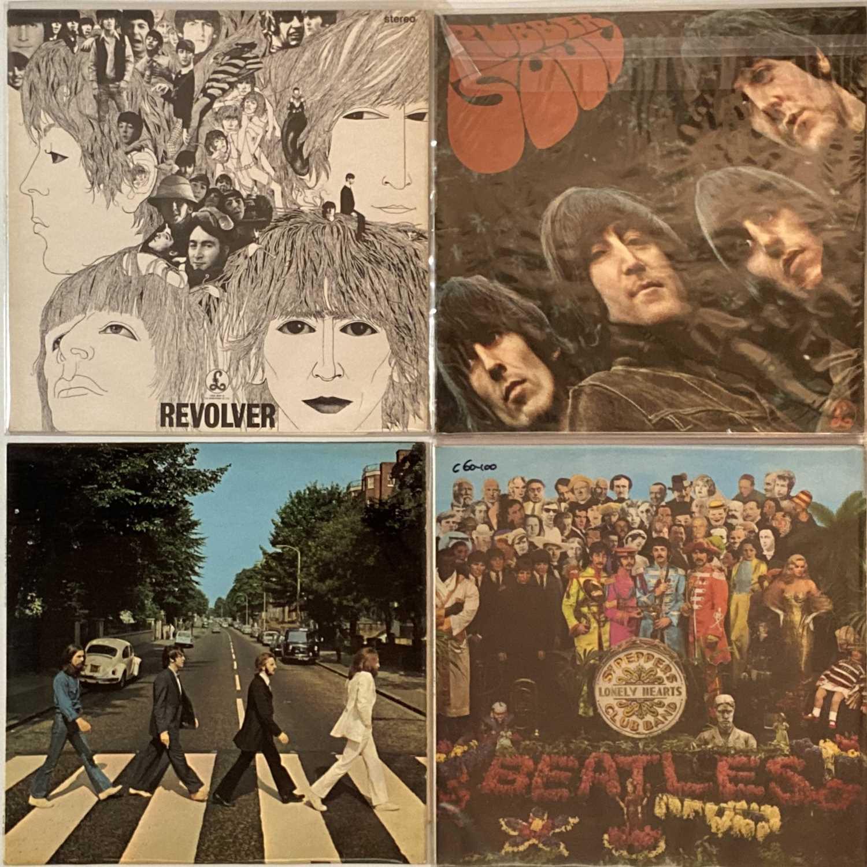 Lot 24 - THE BEATLES - UK STUDIO ALBUM LPs (ORIGINAL/EARLY STEREO PRESSINGS)