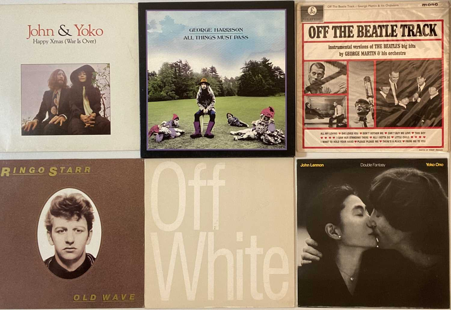 Lot 29 - 'SOLO' BEATLES & RELATED - LPs