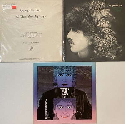 "Lot 30 - GEORGE HARRISON - LPs/12""."