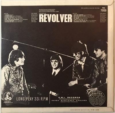 Lot 32 - THE BEATLES - REVOLVER LP (ORIGINAL UK 'WITHDRAWN' MIX LP 'XEX 606-1')