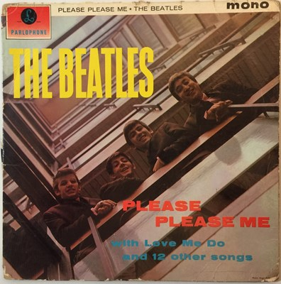 Lot 34 - THE BEATLES - PLEASE PLEASE ME (MONO 'BLACK AND GOLD' ORIGINAL PMC 1202 - 'STARTER' COPY)