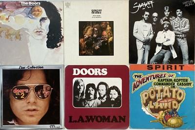 Lot 16 - SPIRIT/ THE DOORS - LPs