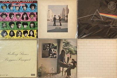 Lot 17 - PINK FLOYD/ THE ROLLING STONES - LPs