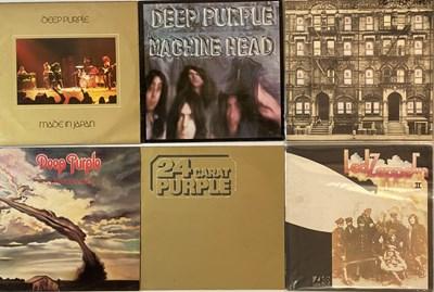 Lot 22 - CLASSIC/ HEAVY ROCK - LPs