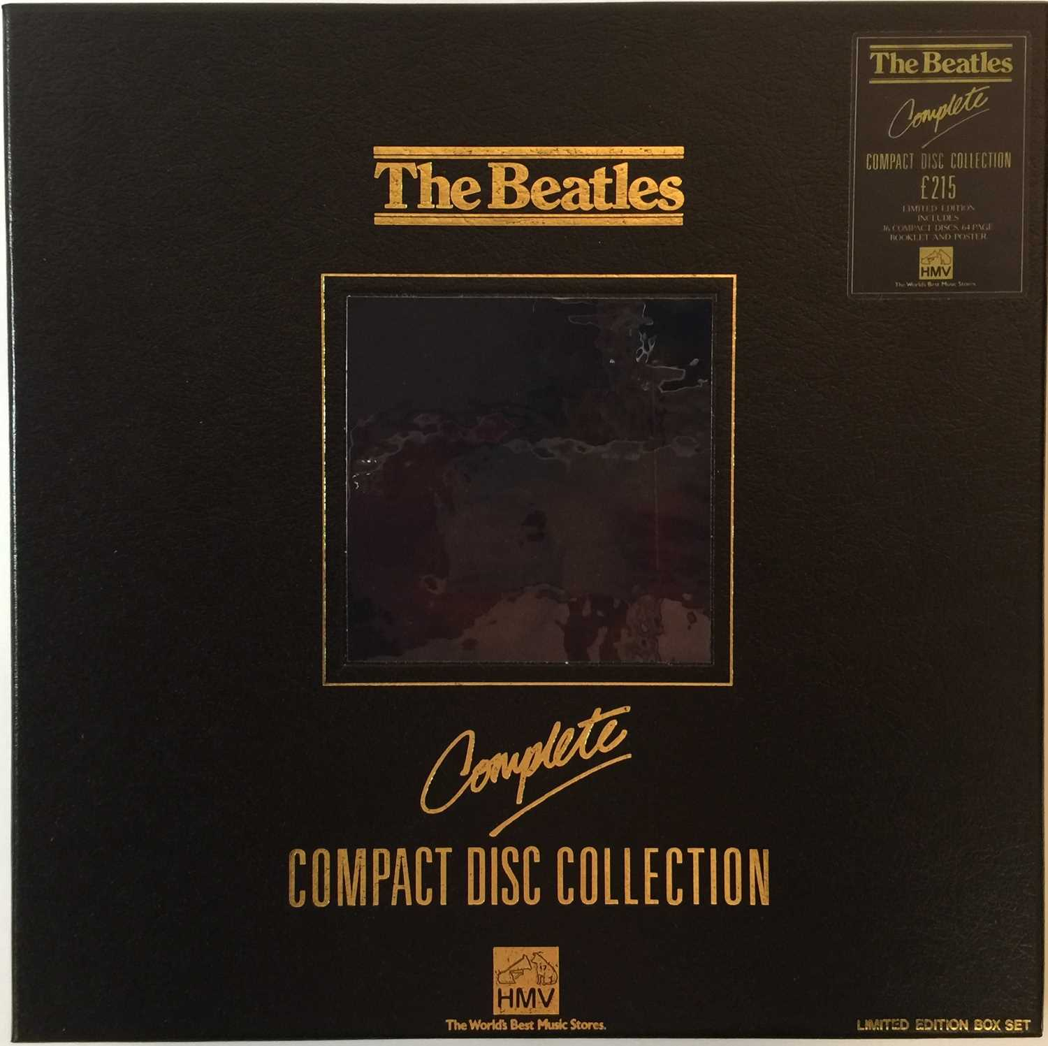 Lot 39 - THE BEATLES - COMPACT DISC COLLECTION (HMV BOX SET - WITH SIGNED COPIES)