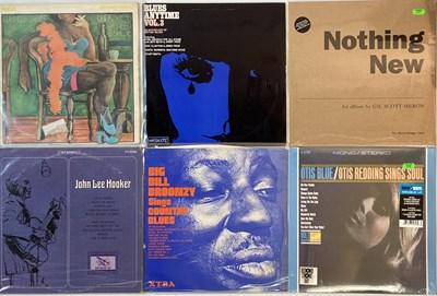 Lot 24 - BLUES/ R&B/ SOUL - LPs