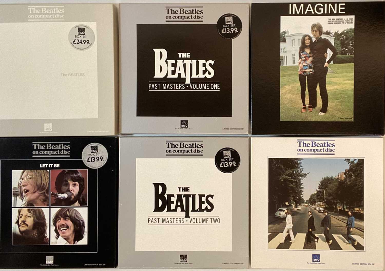 Lot 40 - THE BEATLES - HMV CD BOX SETS (INCLUDING DONOVAN SIGNED)