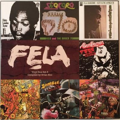 Lot 27 - FELA KUTI - VINYL BOX SET 3 (7 LP SET - KFR4004-1)