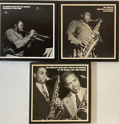 Lot 41 - IKE QUEBEC/ THAD JONES/ JOHN HARDEE - MOSAIC CD BOX SETS
