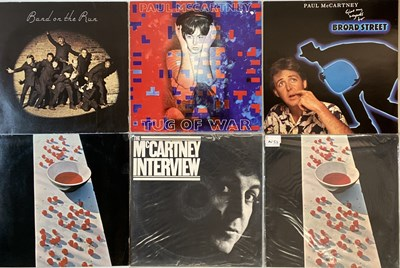 Lot 48 - THE BEATLES & SOLO - LPs