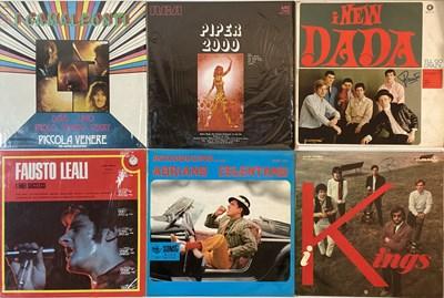 Lot 3 - ITALIAN BANDS/PRESSINGS - GARAGE/MOD/BEAT/POP - LPs