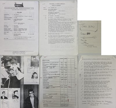 Lot 502 - THE SMITHS - I STARTED SOMETHING VIDEO PRODUCTION COLLECTION
