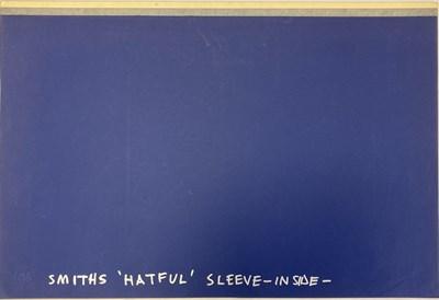 Lot 467 - THE SMITHS HATFUL ARTWORK ORIGINAL ART BOARDS