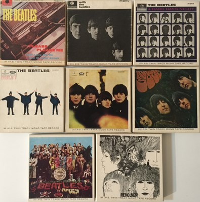 Lot 10-THE BEATLES - REEL TO REEL STUDIO ALBUMS