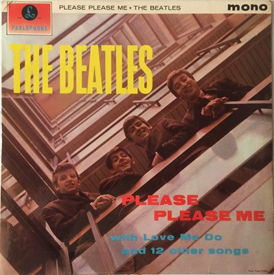 Lot 17-THE BEATLES - PLEASE PLEASE ME LP (1ST UK MONO 'BLACK AND GOLD' - PMC 1202)