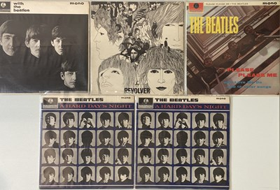 Lot 2-THE BEATLES - STUDIO LPs