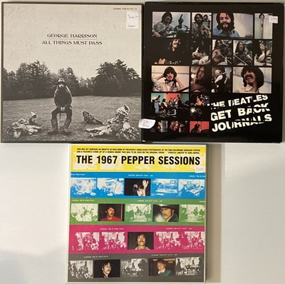 Lot 24-THE BEATLES AND ASSOCIATED LP & CD BOX SETS