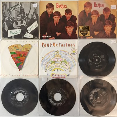 Lot 26-THE BEATLES AND ASSOCIATED - OVERSEAS 7'' COLLECTION