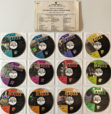 Lot 28-THE BEATLES - WESTWOOD ONE PUBLIC BROADCAST CD RARITIES