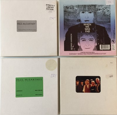 Lot 29-THE BEATLES AND ASSOCIATED 7'' & CD COLLECTION