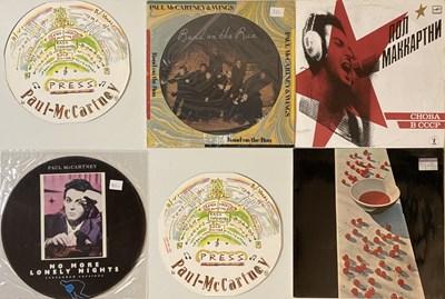 Lot 30-PAUL MCCARTNEY LP & 12'' COLLECTION