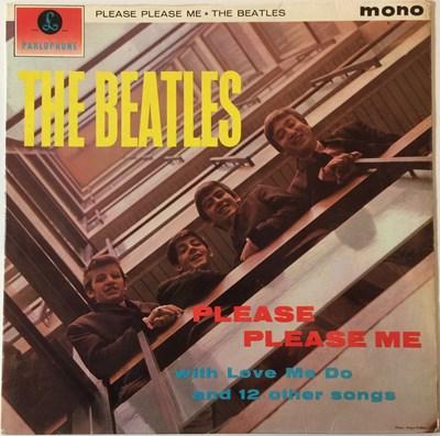 Lot 33-THE BEATLES - PLEASE PLEASE ME LP (1ST UK MONO 'BLACK AND GOLD' - PMC 1202)