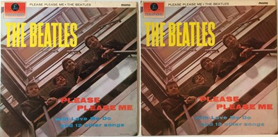 Lot 35-THE BEATLES - PLEASE PLEASE ME MONO LPs (5TH AND 7TH 1 BOX PRESSINGS)
