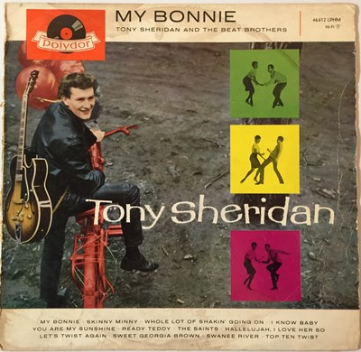 Lot 36-TONY SHERIDAN AND THE BEAT BROTHERS (THE BEATLES) - MY BONNIE LP (ORIGINAL GERMAN PRESSING - POLYDOR LPHM 46 612)