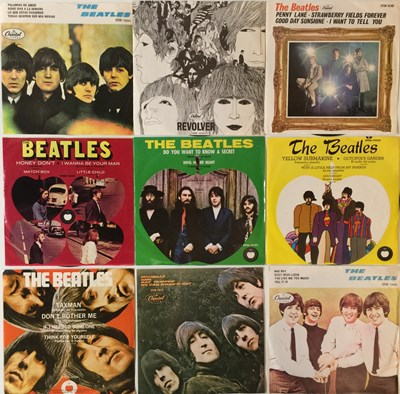 Lot 45-THE BEATLES - SOUTH AMERICAN 7'' COLLECTION