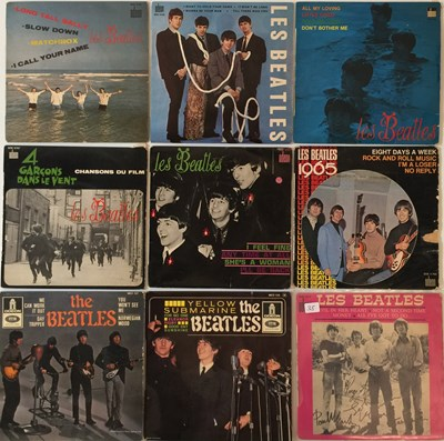 Lot 46-THE BEATLES - FRENCH 7'' COLLECTION