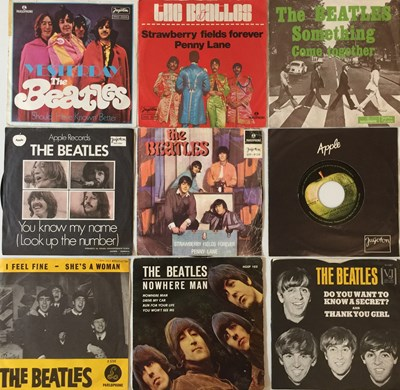 Lot 47-THE BEATLES - OBSCURITIES/ PRIVATE PRESSED 7'' COLLECTION