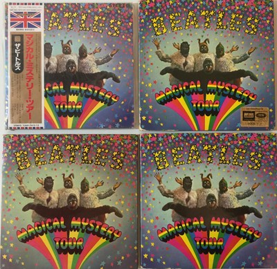 Lot 49-THE BEATLES - MAGICAL MYSTERY TOUR (4 DIFFERENT COPIES)