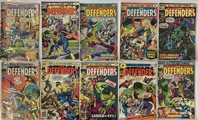 Lot 14-MARVEL DEFENDERS COMICS