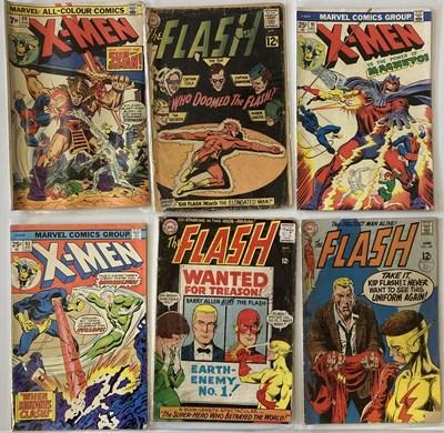 Lot 15-MARVEL X-MEN COMICS/DC THE FLASH