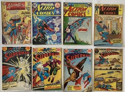 Lot 16-SUPERMAN / SUPERBOY COMICS