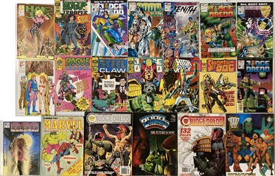 Lot 26-MARVEL/2000AD COMICS
