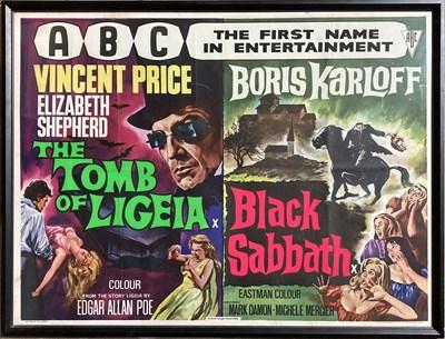 Lot 28-BLACK SABBATH / TOMB OF LIGEIA 1964 UK QUAD