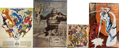 Lot 40-MARVEL POSTERS