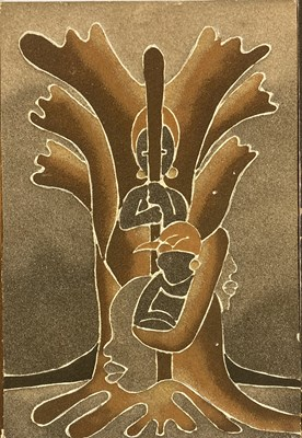 Lot 14 - SENEGALESE SAND PAINTINGS