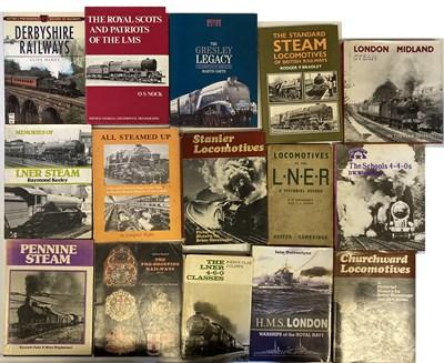 Lot 6-RAILWAYANA - TRAIN AND RAILWAY BOOK ARCHIVE