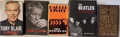Lot 7-SIGNED BOOKS - BRUCE CHATWIN / TONY BLAIR